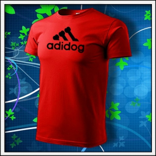 Adidog - červené