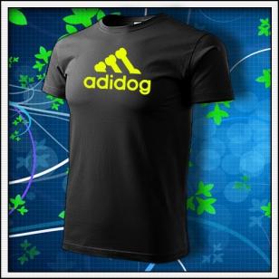 Adidog - čierne