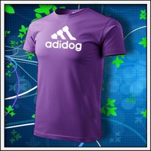 Adidog - fialové