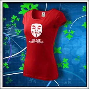 Anonymous 03 - dámske červené