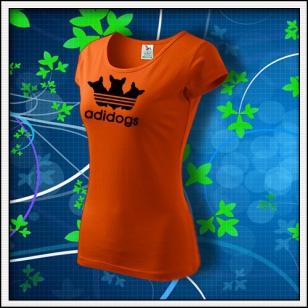 Adidogs - dámske oranžové