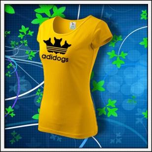Adidogs - dámske žlté