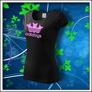 Adidogs - dámske čierne