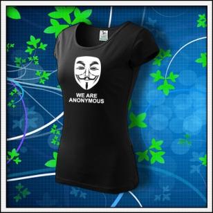 Anonymous 03 - dámske čierne