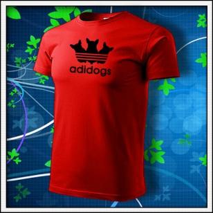 Adidogs - červené