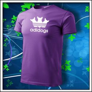 Adidogs - fialové