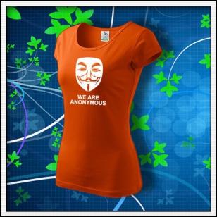 Anonymous 03 - dámske oranžové