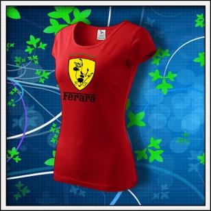 Ferara - dámske červené