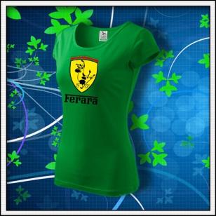Ferara - dámske trávovozelené