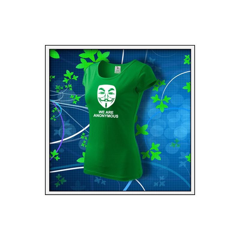 Anonymous 03 - dámske trávovozelené