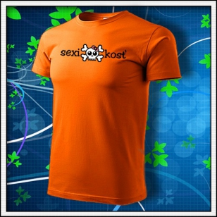 Sexi kosť - oranžové