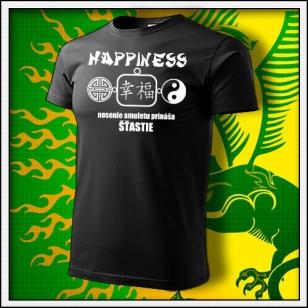 Amulet Šťastia - čierne