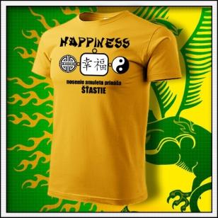Amulet Šťastia - žlté