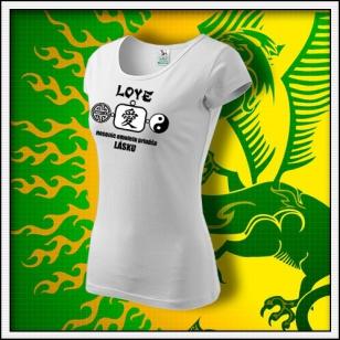 Amulet Lásky - dámske biele