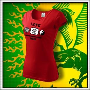 Amulet Lásky - dámske červené