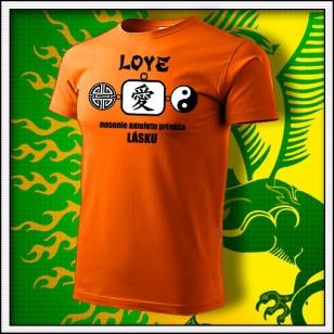 Amulet Lásky - oranžové