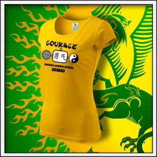 Amulet Odvahy - dámske žlté