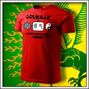 Amulet Odvahy - červené