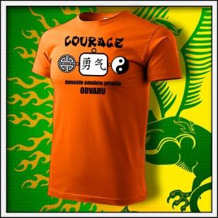 Amulet Odvahy - oranžové