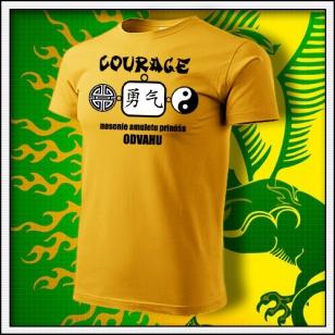Amulet Odvahy - žlté