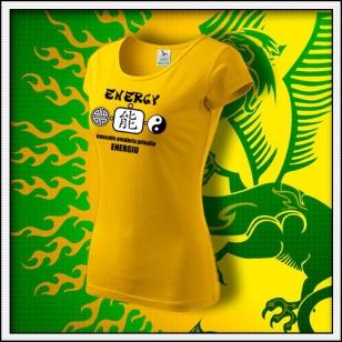 Amulet Energie - dámske žlté