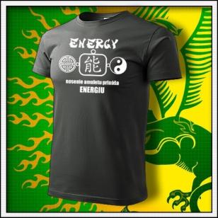 Amulet Energie - tmavá bridlica