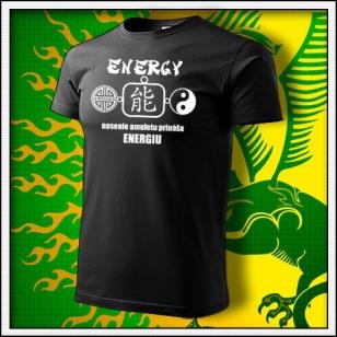 Amulet Energie - čierne