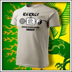 Amulet Energie - ľadovosivé
