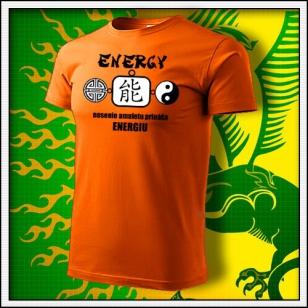 Amulet Energie - oranžové