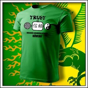 Amulet Dôvery - trávovozelené