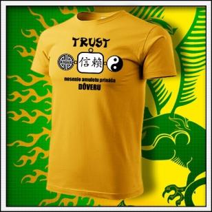 Amulet Dôvery - žlté