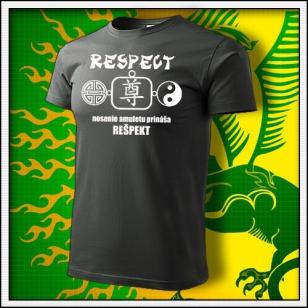 Amulet Rešpektu - tmavá bridlica