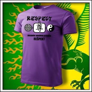 Amulet Rešpektu - fialové