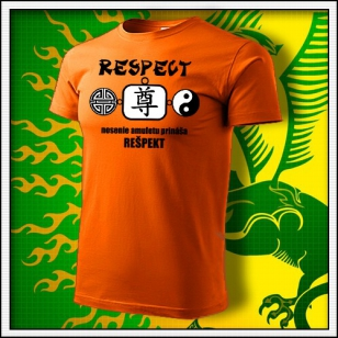 Amulet Rešpektu - oranžové