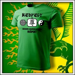 Amulet Rešpektu - trávovozelené