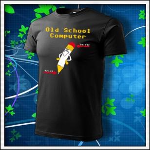 Old School Computer - čierne