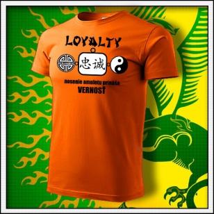 Amulet Vernosti - oranžové