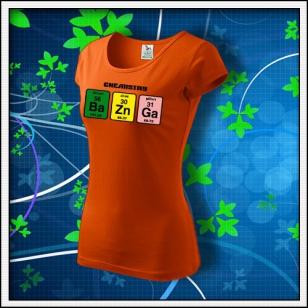 BAZINGA - dámske oranžové