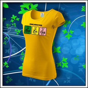 BAZINGA - dámske žlté