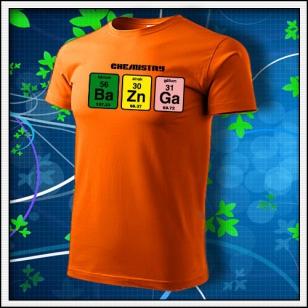 BAZINGA - oranžové