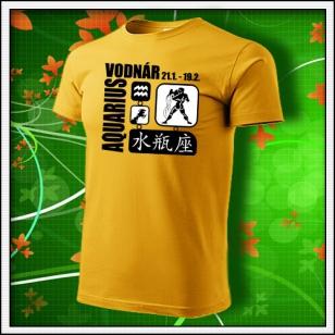 Znamenie Vodnár - žlté
