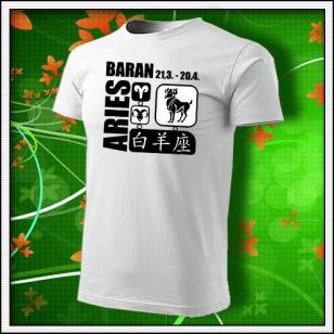 Znamenie Baran - biele