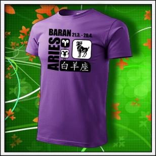 Znamenie Baran - fialové