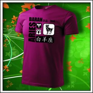 Znamenie Baran - fuchsia red