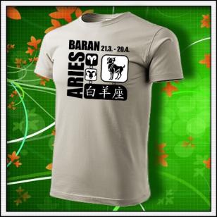 Znamenie Baran - ľadovosivé