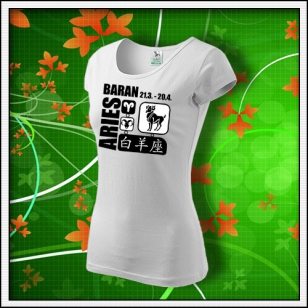 Znamenie Baran - dámske biele