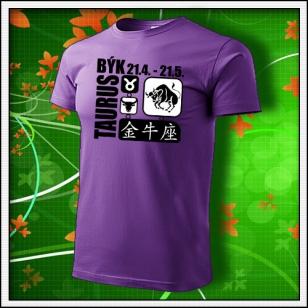 Znamenie Býk - fialové
