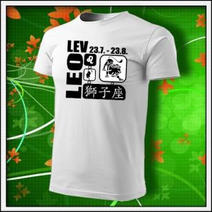 Znamenie Lev - biele