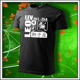 Znamenie Lev - čierne
