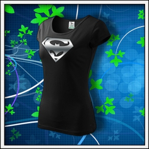 Super Batman - dámske tričko s reflexnou potlačou